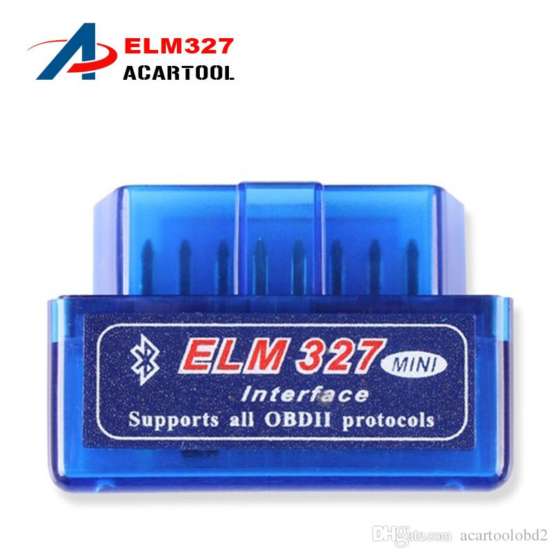2017 Dernière version Super Mini ELM 327 Bluetooth V2.1 Scanner OBD2 ELM327 OBD