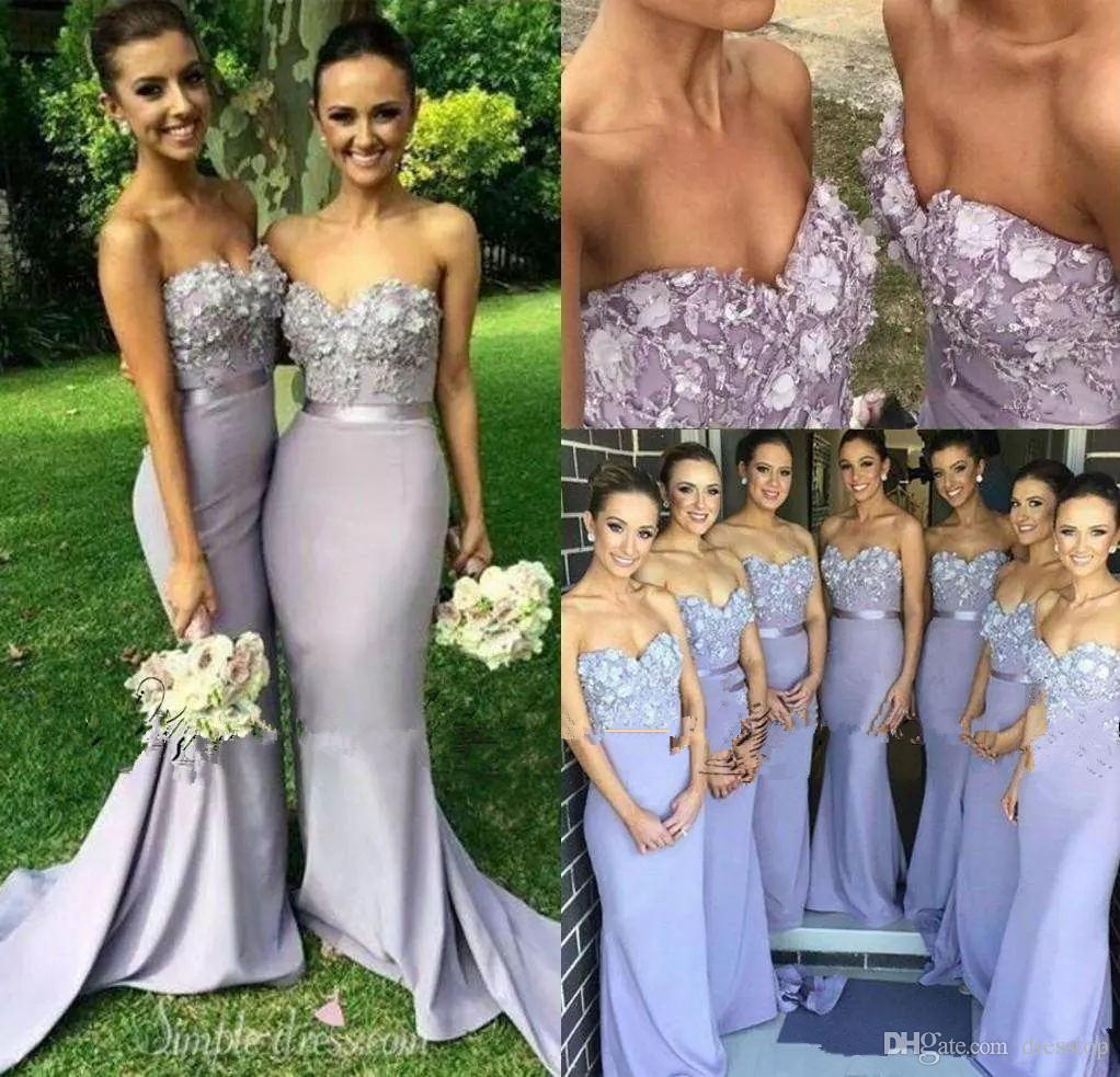 Lavender bridesmaid dresses sweetheart neck mermaid prom gowns lavender bridesmaid dresses sweetheart neck mermaid prom gowns sweep train long appliqued evening dress with sash cheap prom gown evening dress online with ombrellifo Image collections