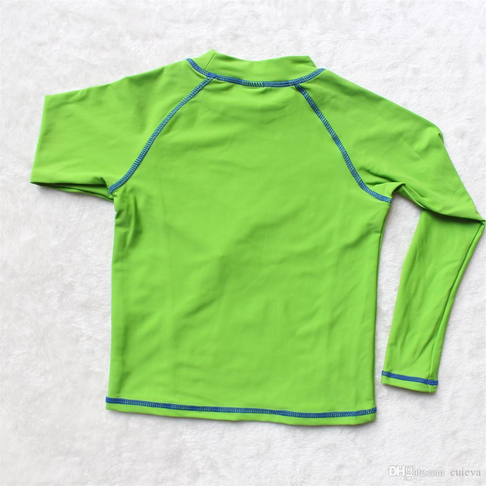 2017 wholesale baby boys rash guard shirts boys tops for Baby rash guard shirt