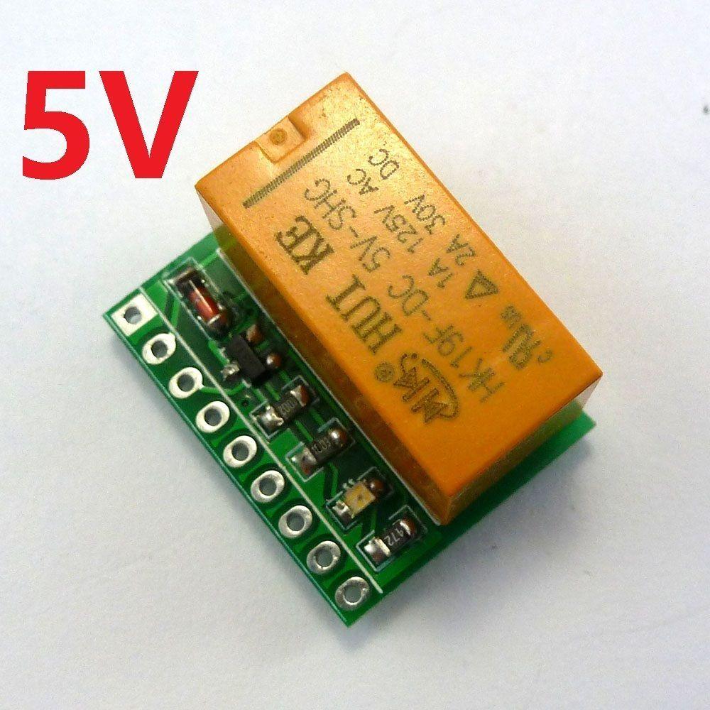 V A Dpdt Relay Board Hkf Pcb Module For Motor Led Stereo - Dpdt relay buy