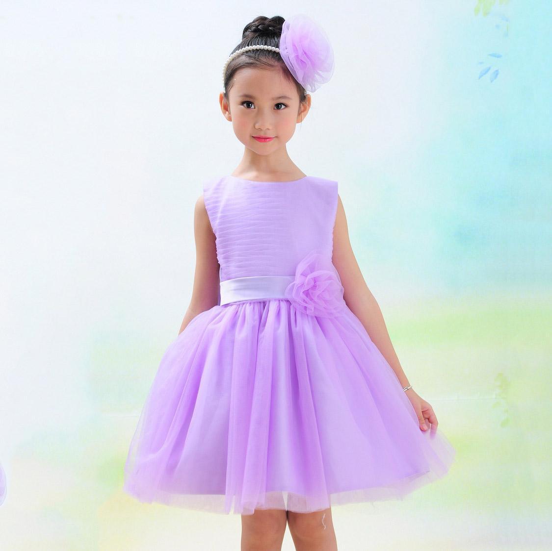 Online Cheap Kids Party Dress Girl Tulle Dresses Kids Christmas ...