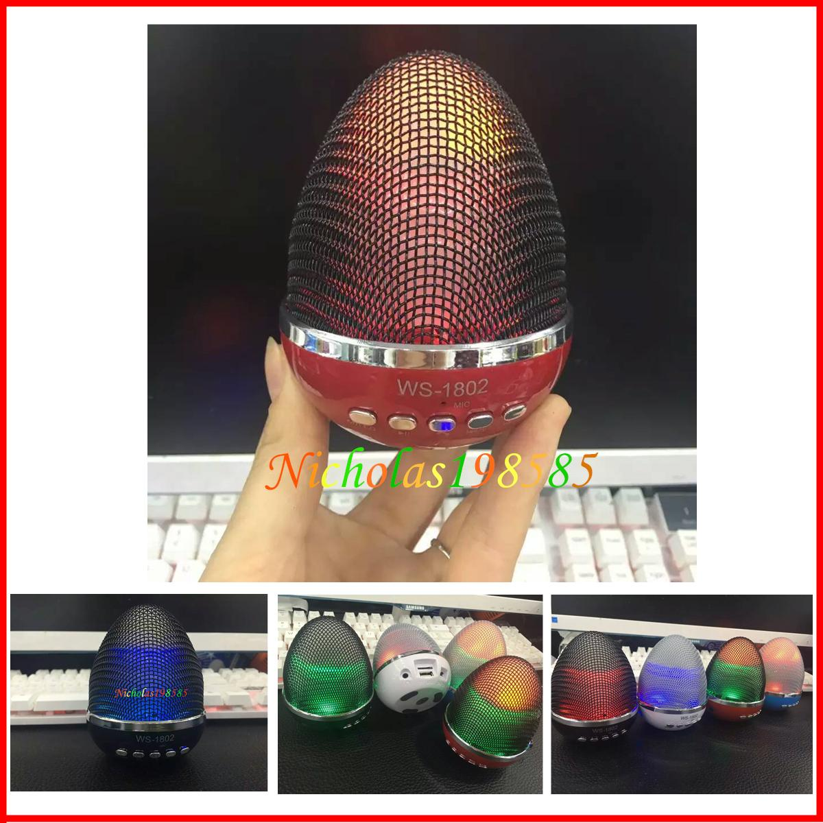 Light Stand For Egg: WS-1802 Stand Egg Style Mini Wireless Bluetooth Speakers