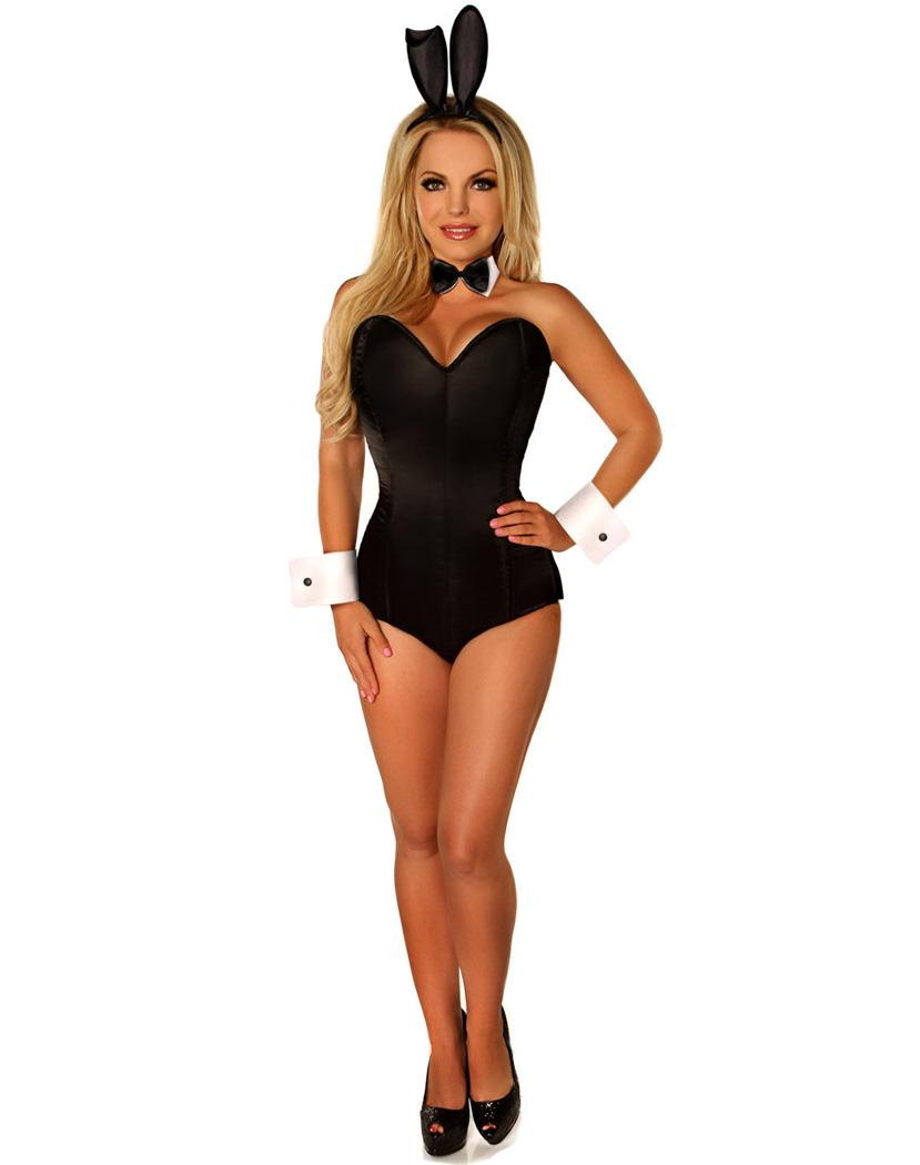 NEW ARRIVAL Sexy Bunny Teddy Corset Costume Include a Corset Teddy ...