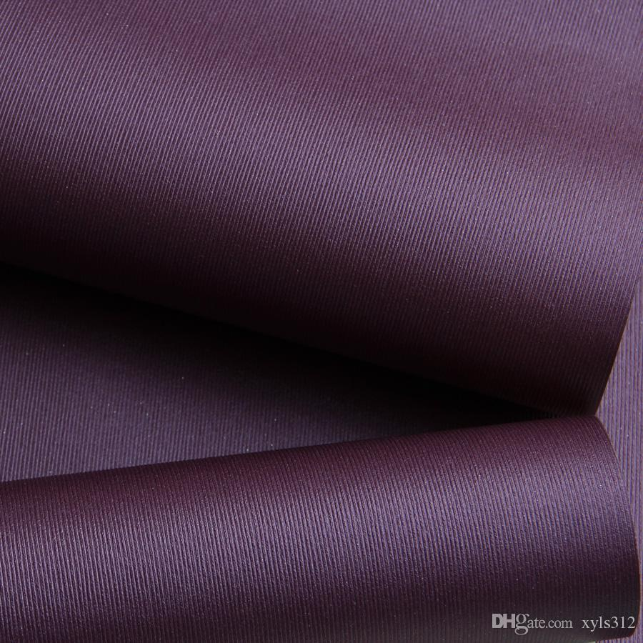Pure Purple Wallpaper Plain Wallpaper Warm Living Room Bedroom Foot Store  Cafe Romantic Minimalist For Livingroom Bedroom Tv Background Wall  Wallpapers ... Part 87