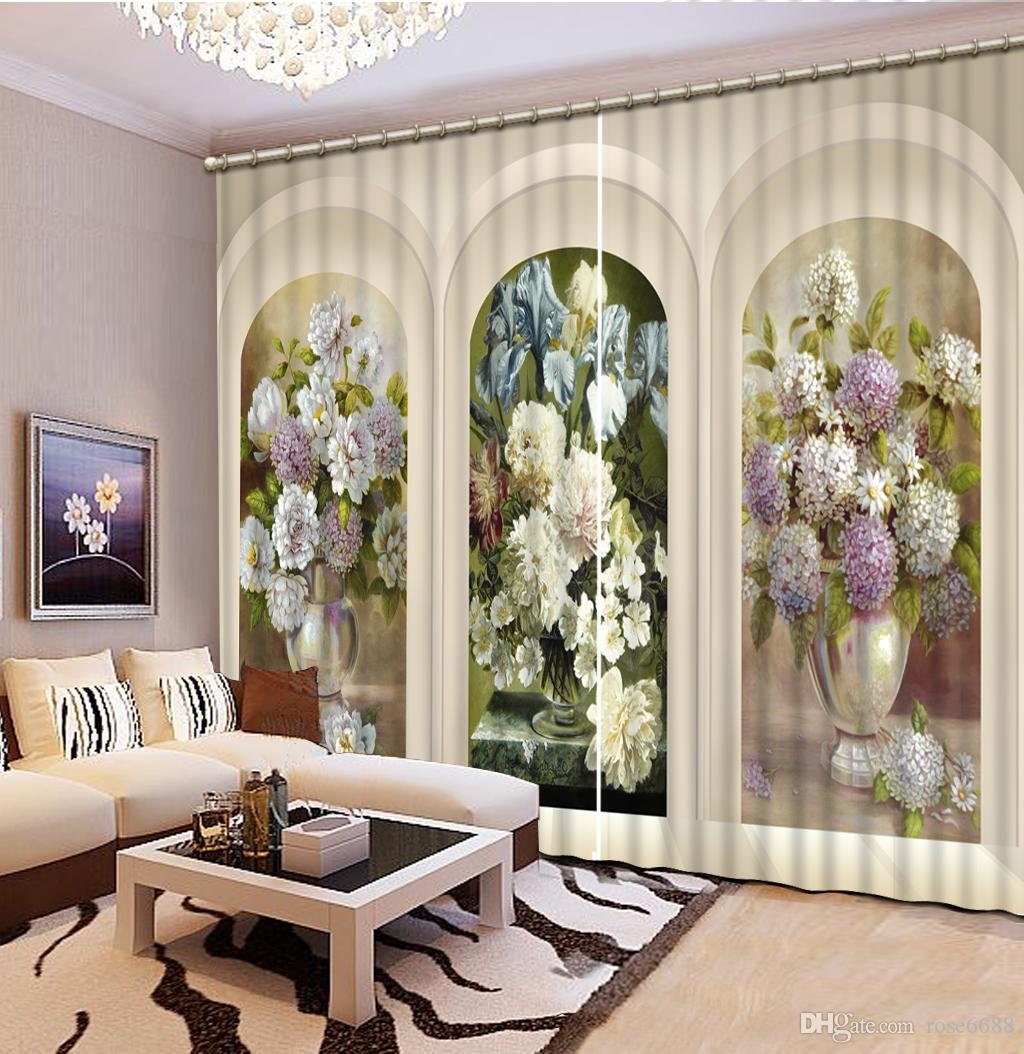 Classic home decoration - 2017 Curtain Top Classic Home Decoration 3d Window Curtains For Room Europe Style Arched Door Custom Curtains From Rose6688 86 84 Dhgate Com