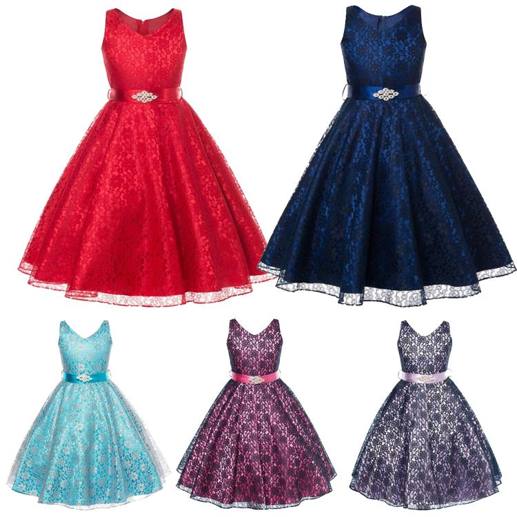 Samgami Baby Girls Princess Party Dresses