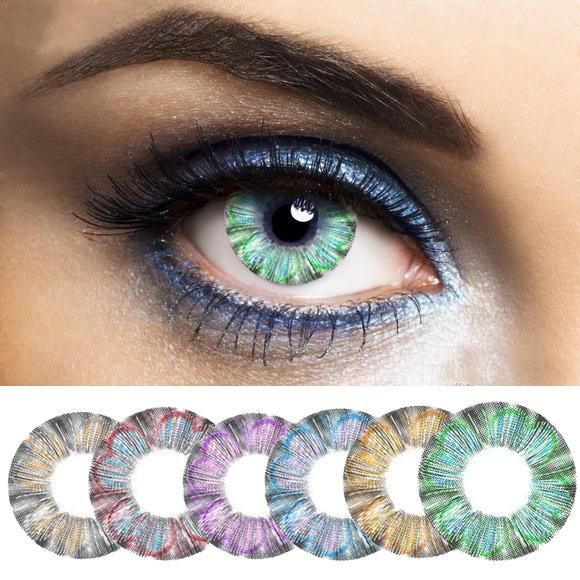 2016 new clover color contact lenses lens color contact