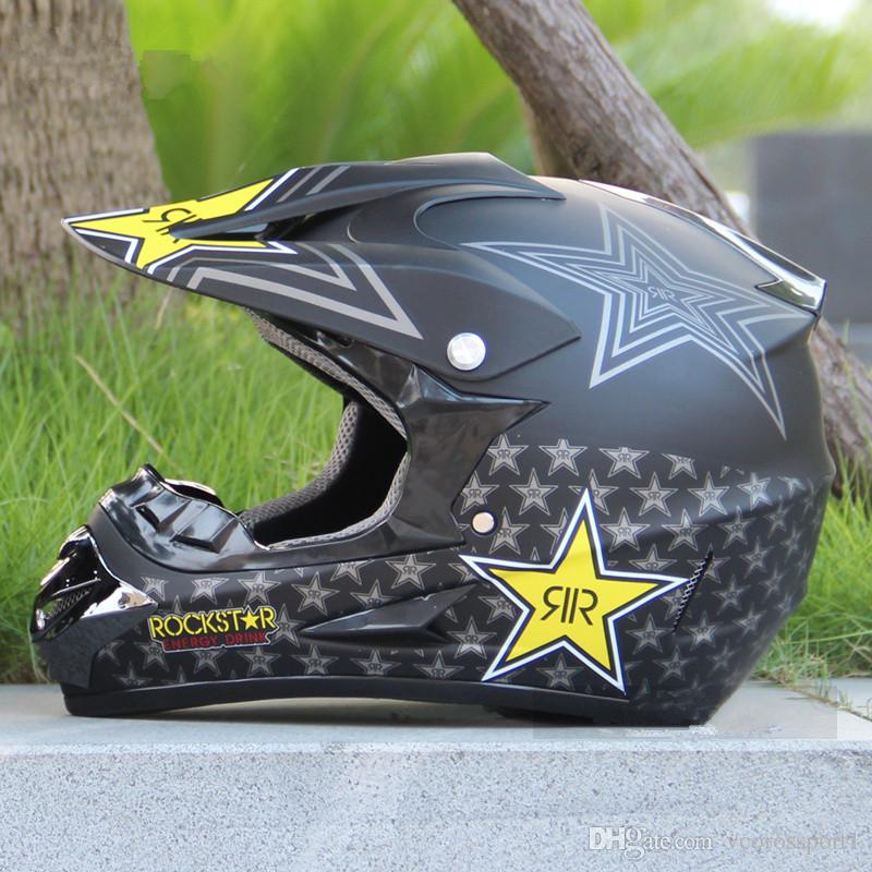 Capacete Motociclismo Casque Moto Dirt Bike ATV Casque Motocross Casque Racing C