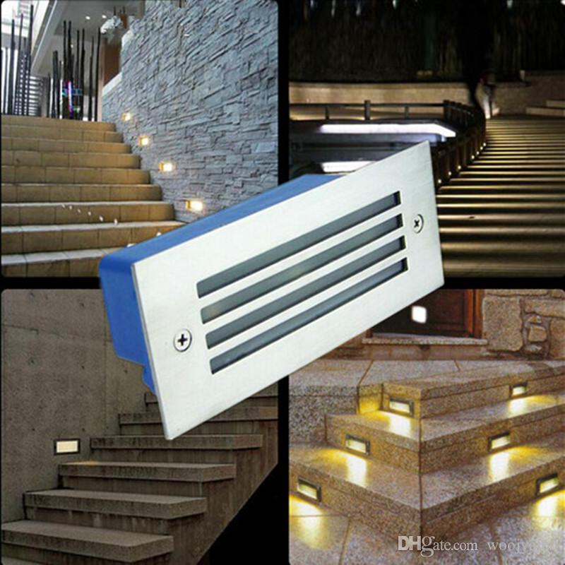 Outdoor / Indoor IP65 Led Path Lights 3W 85-265v Led Wall Lamp ...