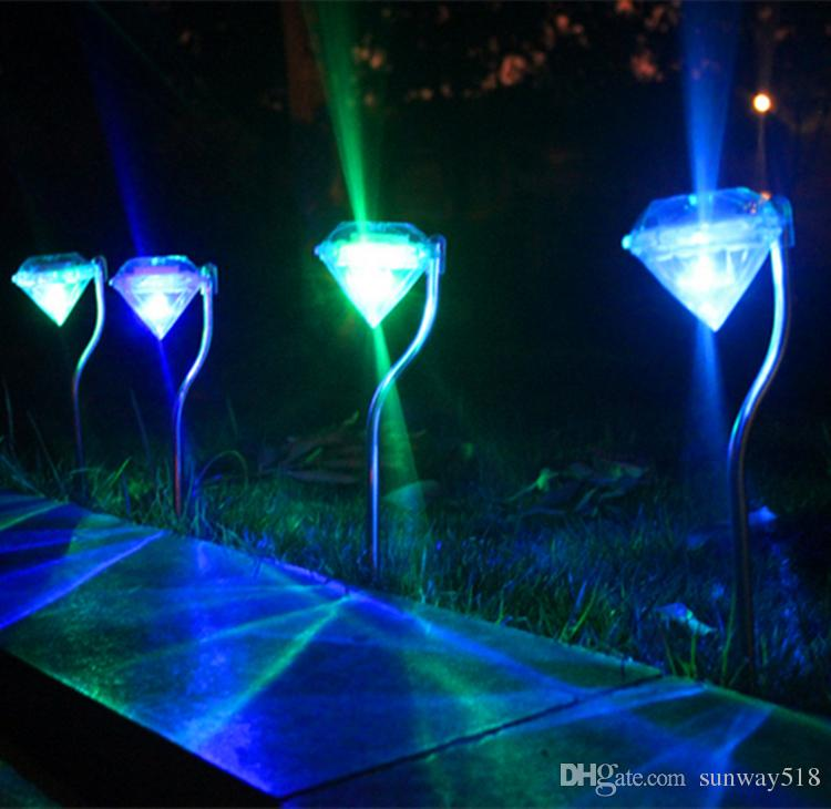solar power lights rgb color change led solar outdoor christmas lights