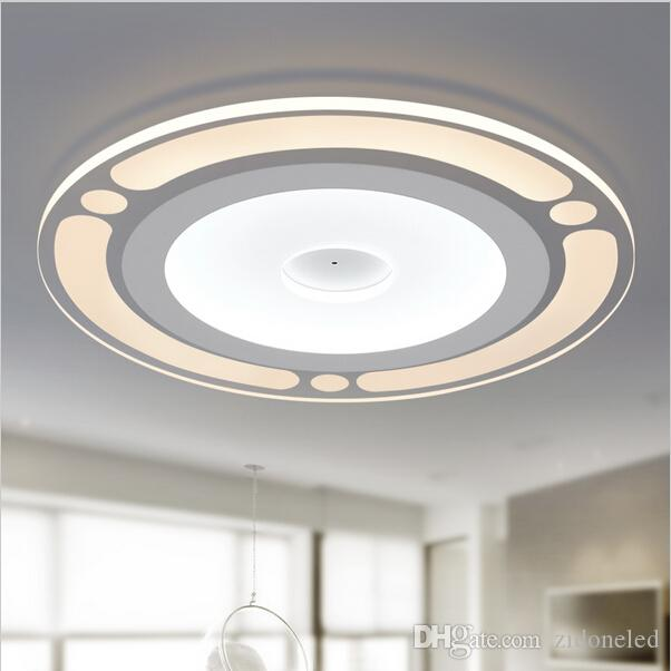 Fancy Kitchen Ceiling Lights: Dimmable Modern Minimalist Round Led Ceiling Light Acrylic