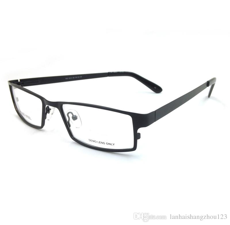 new fashion eyeglasses  New Fashion Eyeglasses Frames Metal Full Rim Men Stainless Steel ...