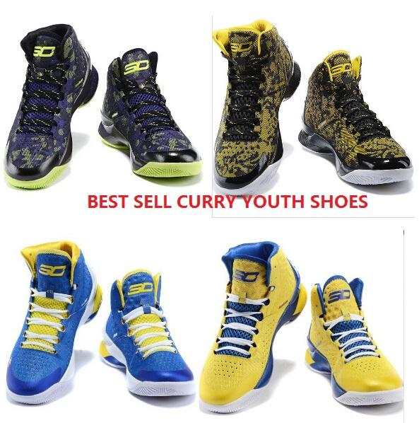 Stephen Curry e High Tops Youth Shoes Kids Sneakers