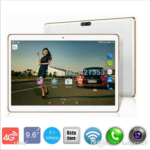 9,6 pouces Octa Core 3G 4G Lte Tablet PC Android 5.1 Dual Camera 8.0MP 4 Go RAM