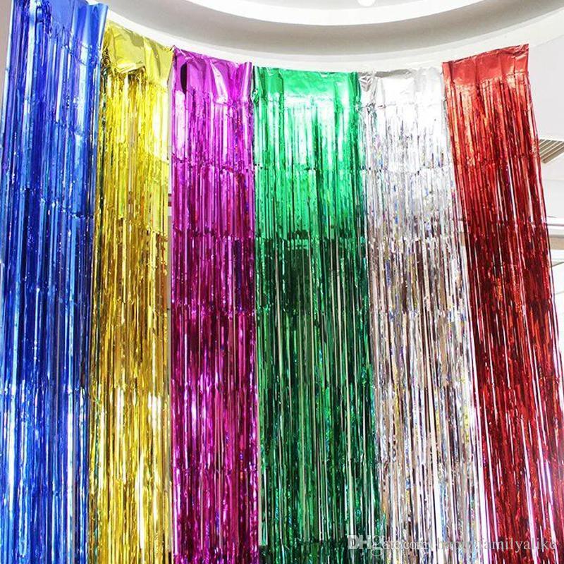 Ribbon Colorful Wedding Birthday Party Decoration Balloon Tassels