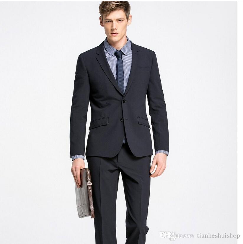 Best Allure Black Suit Fashion Style Men\'S Clothing Suits Blazers ...