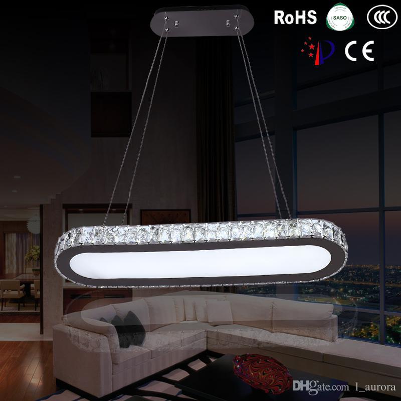 ac 110v 220v 230v modern l65cm long bar led crystal chandelier dining. Black Bedroom Furniture Sets. Home Design Ideas