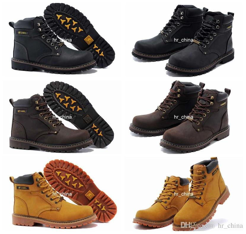 2016 Brand New Ankle Boots Camel Shoes Mens Winter Boots ...