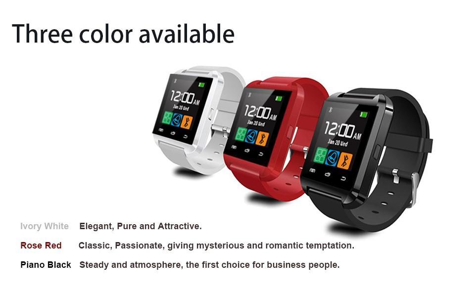 Smartwatch U8 Bluetooth Touch Screen Wristwatch Without ...