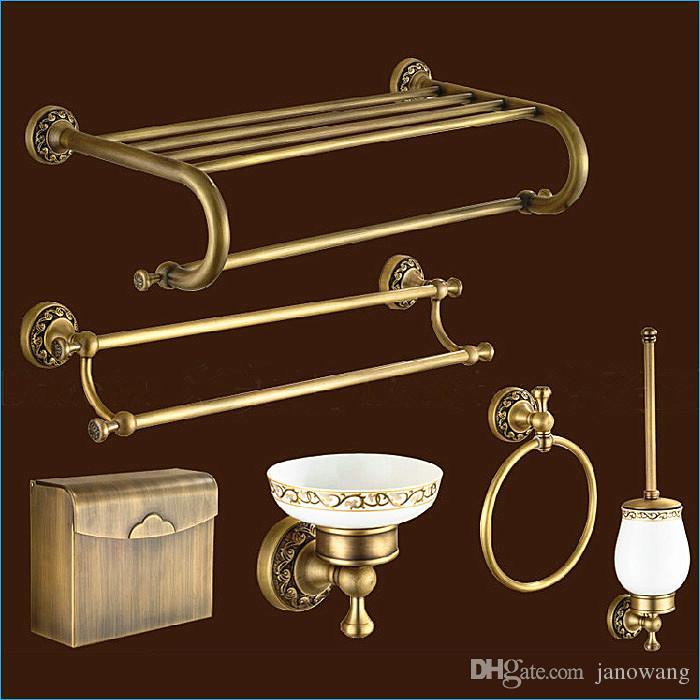 style bronze bathroom hardware antique brass bathroom accessories