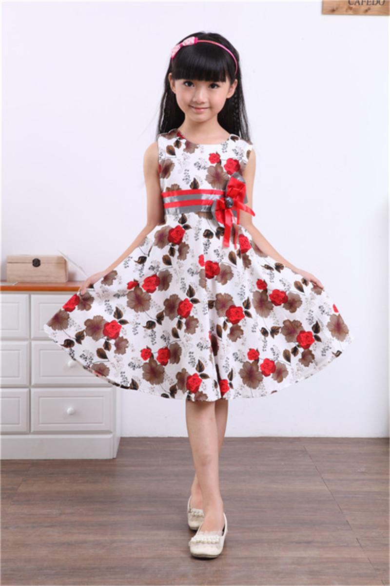 Best 2016 Hot Sale Girls Beautiful Dresses Children Summer Party ...