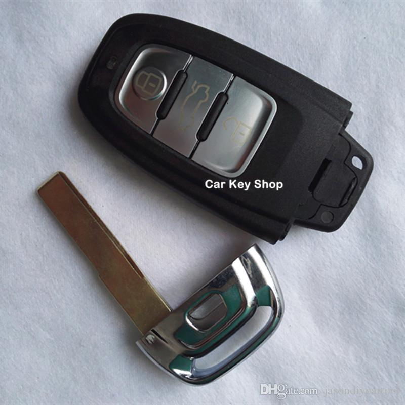 Smart Remote Key Case Shell 3 Botton For Audi A4l A6l A5 A7 A8 Q5 Q7 S5 S6 S7 S8 Replacement ...