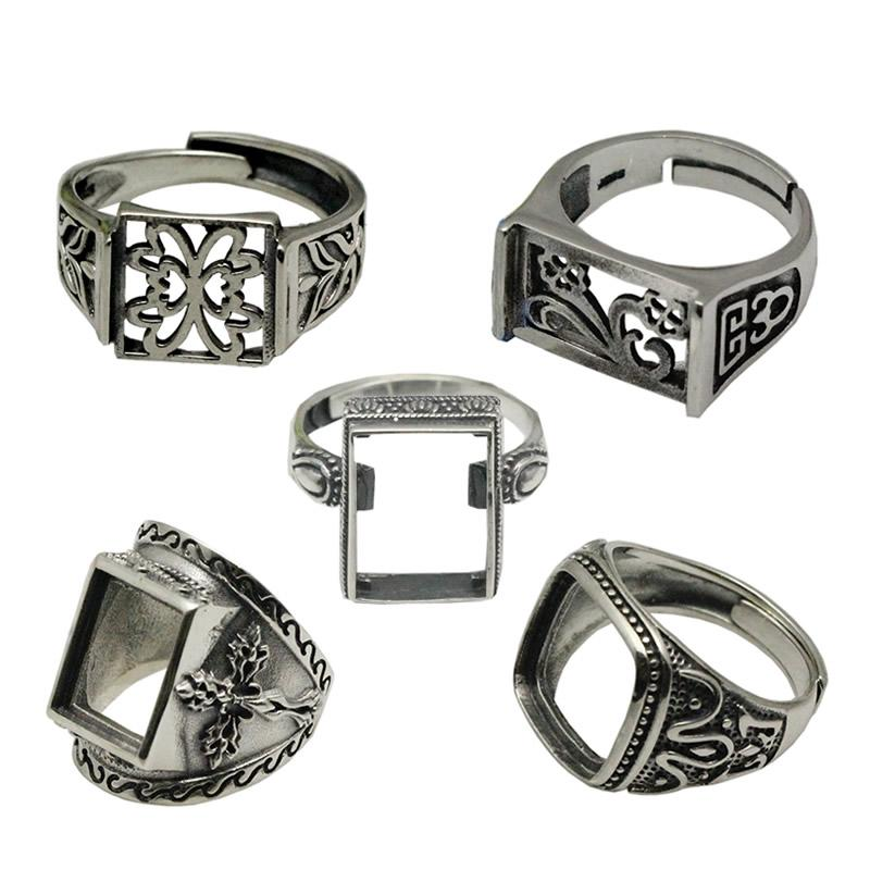 2017 beadsnice vintage style rings thailand silver ring