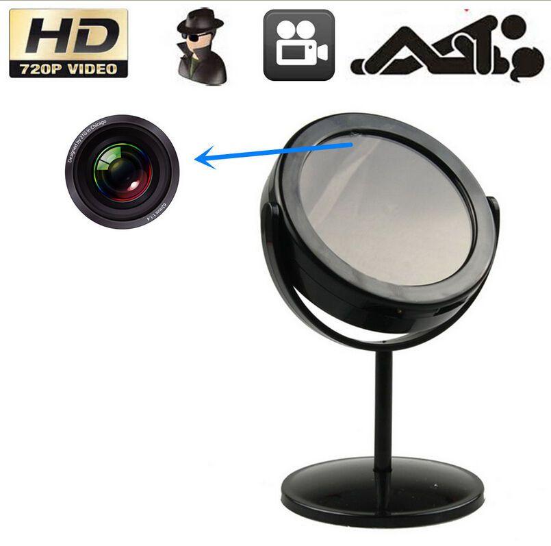 Real Mirror With Spy Camera Home Security Hidden Camera