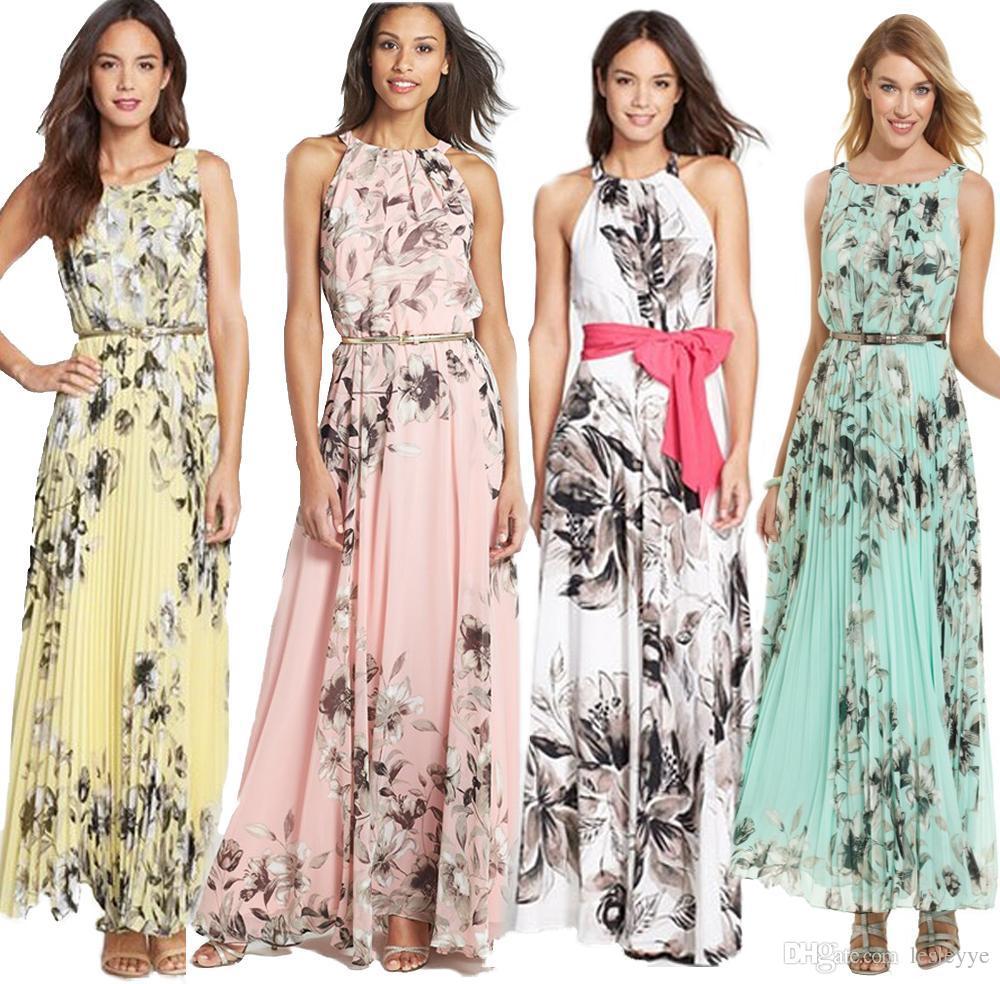 Yellow Maxi Dress Casual Online | Yellow Casual Summer Dress Maxi ...