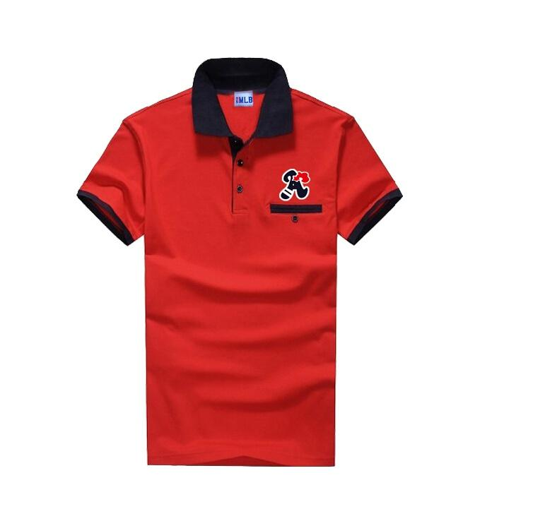 2017 discount brand american baseball 2016 new men polo for Cheap branded polo shirts