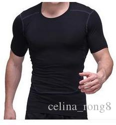 Hommes Fitness Sport Compression Base Calques Sous Tops Chemises Thermal Tees Ha