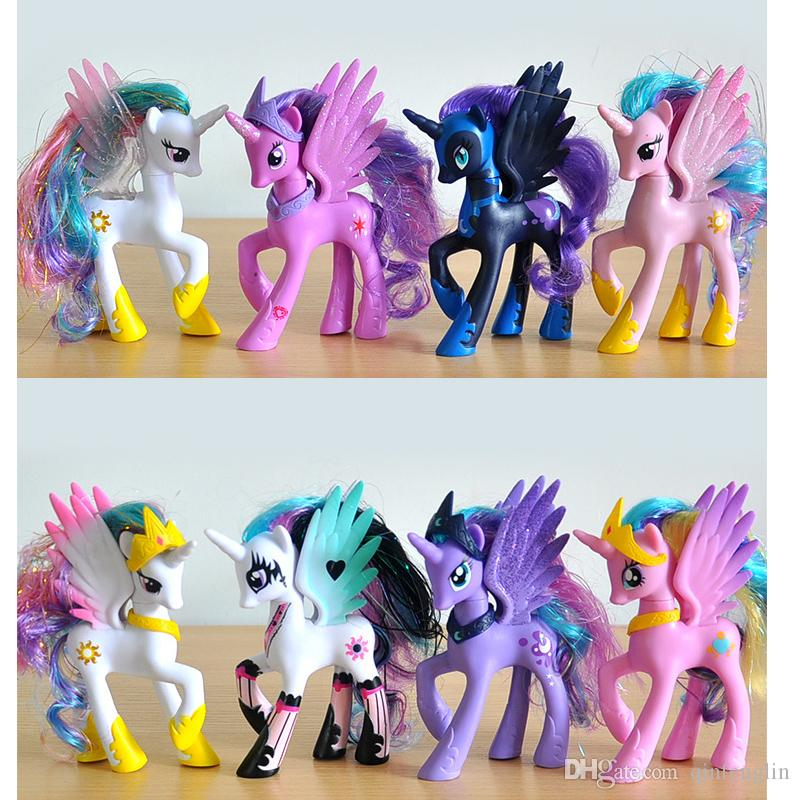 Horse Toys For Boys : Plastic horse toy rainbow dash filly princess