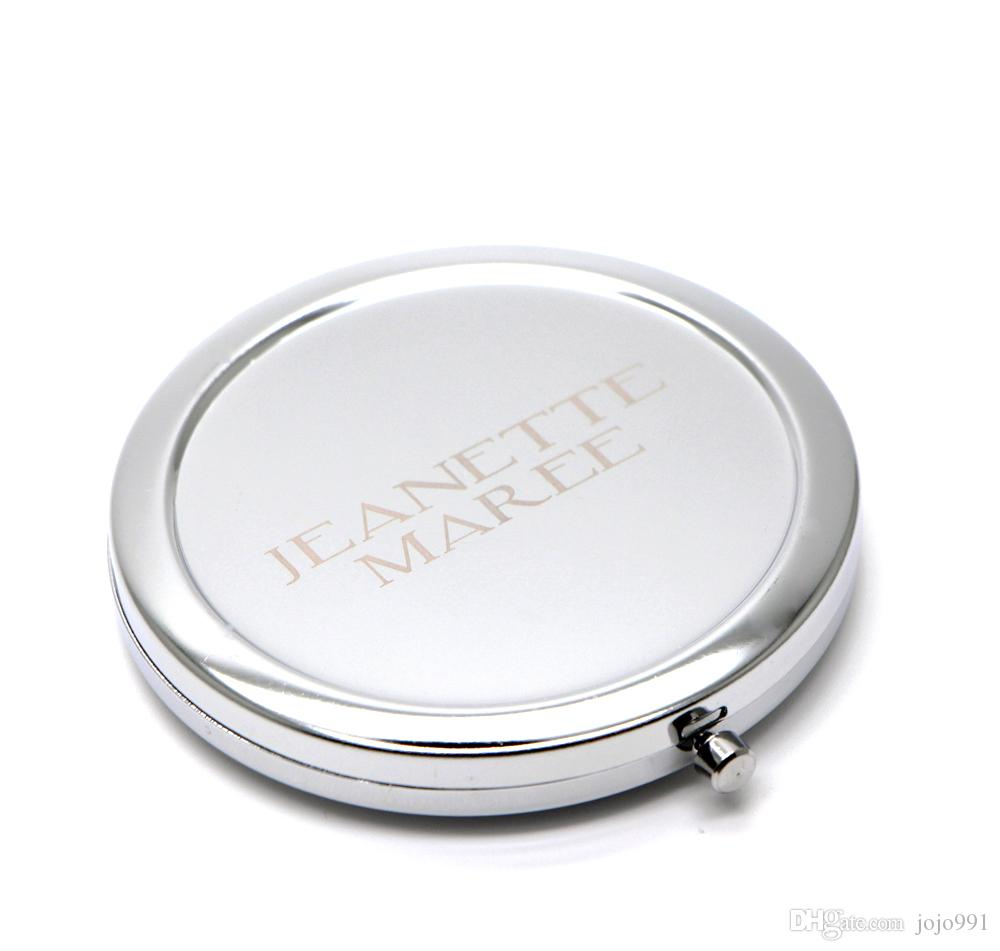 Compact Blank Diy Mirror Custom