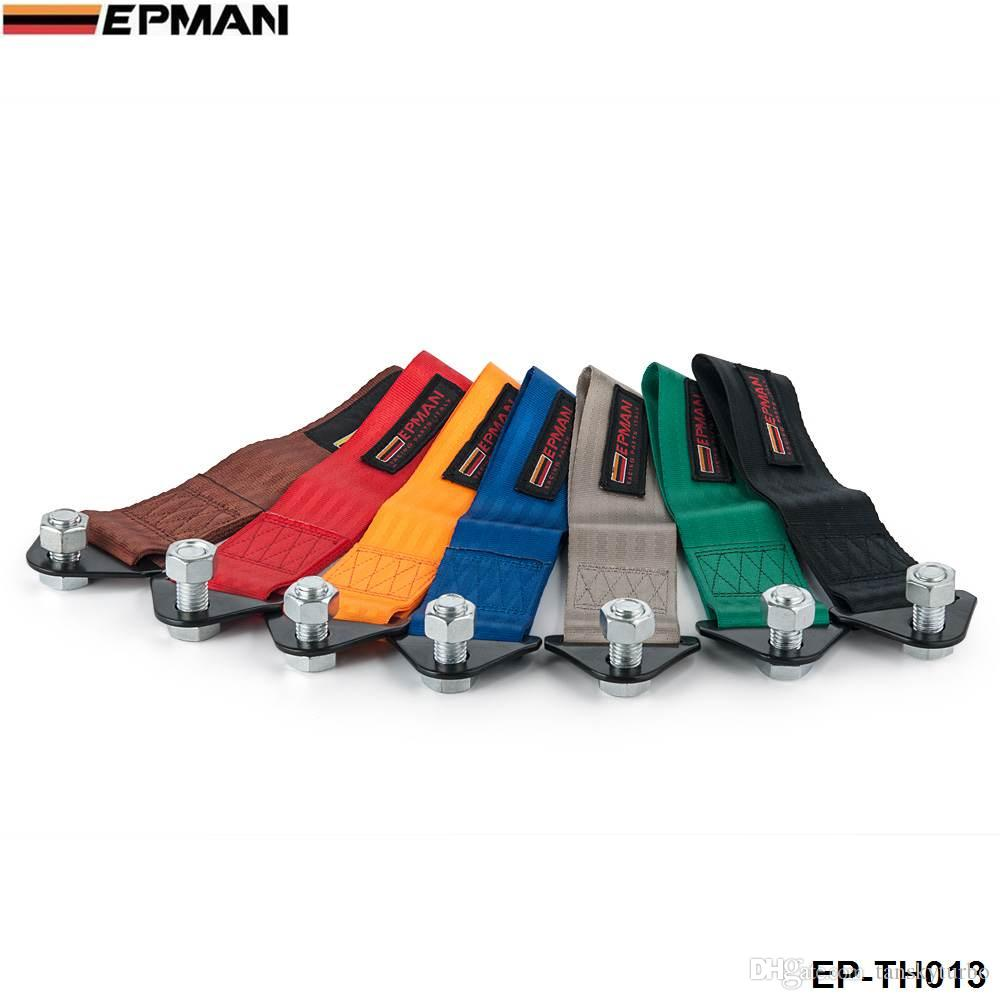EPMAN -NEW EP Universal Towing Ropes sangle de remorquage orange bleu vert rouge