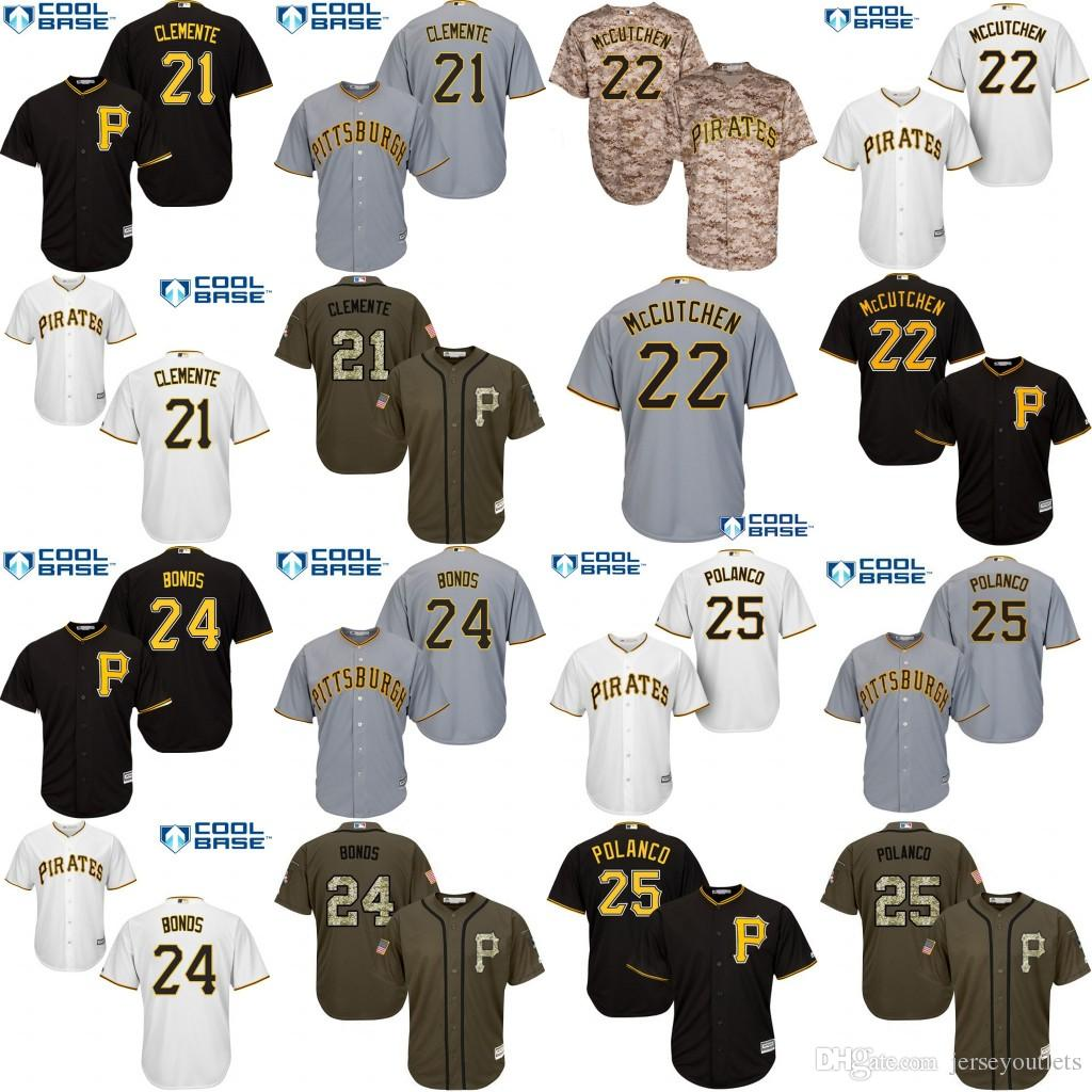 Jeunesse 21 Roberto Clemente 24 Barry Bonds 22 Andrew McCutchen 25 Gregory Polan