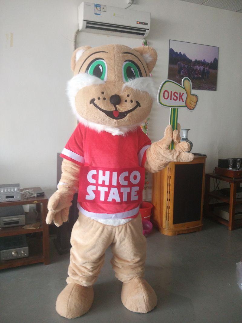 Ohlees Custom Made Cartoon Wildcat Sport Mascot Costumes For ...