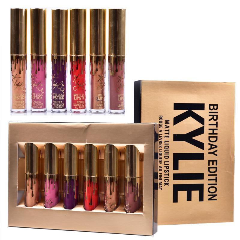 Hot Kylie Cosmetics Matte Liquid Lipstick Mini Kit Lip ...