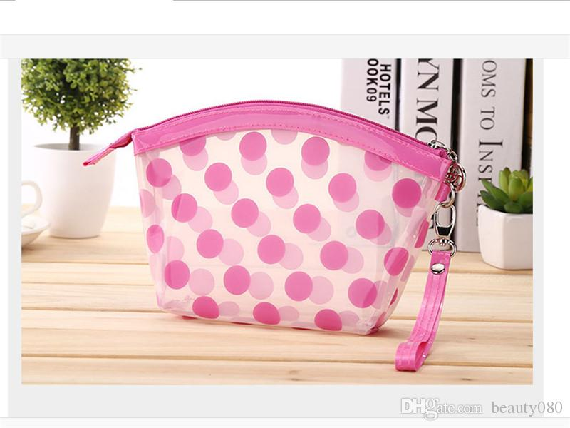Cute Girl Waterproof Travel Small Makeup Pvc Cosmetic Bag, Plastic ...