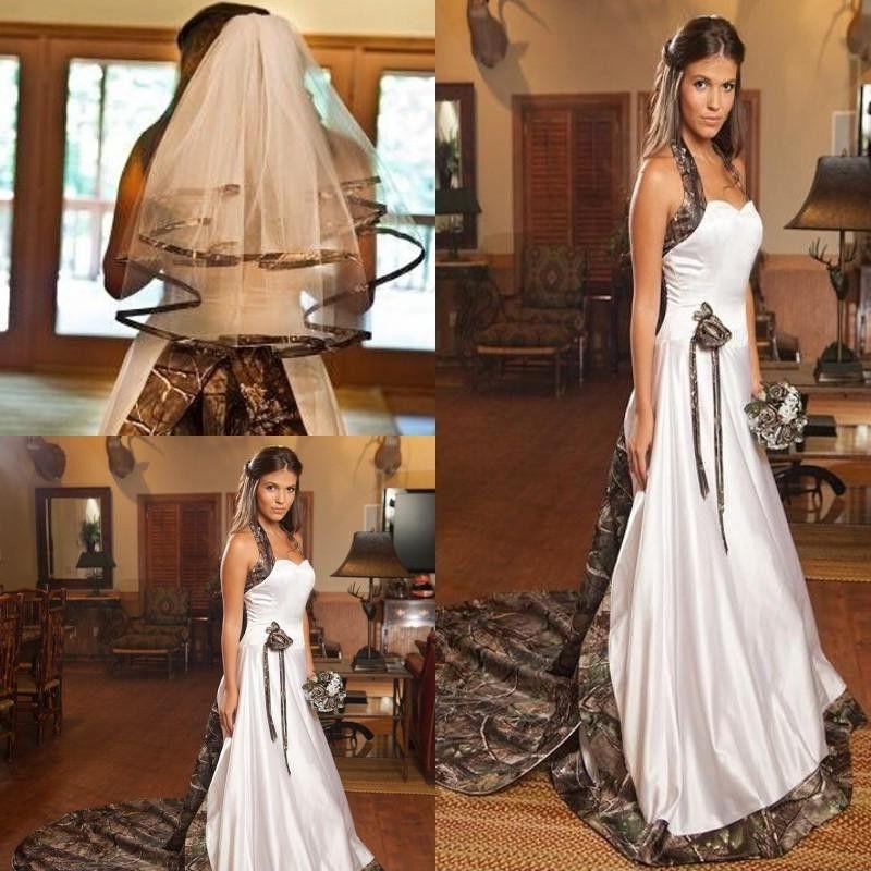 2017 camo wedding dress plus veils vintage fashion custom for Camo wedding dress prices