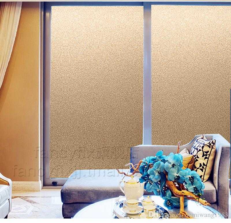 2016 New gold Frosted Privacy Frost Home Bedroom Bathroom Glass Window Film  Sticker 50 60. 2017 2016 New Gold Frosted Privacy Frost Home Bedroom Bathroom