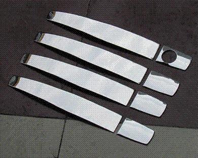 Hot sale stainless steel trim chrome door handle cover 2009 chevy aveo interior door handle