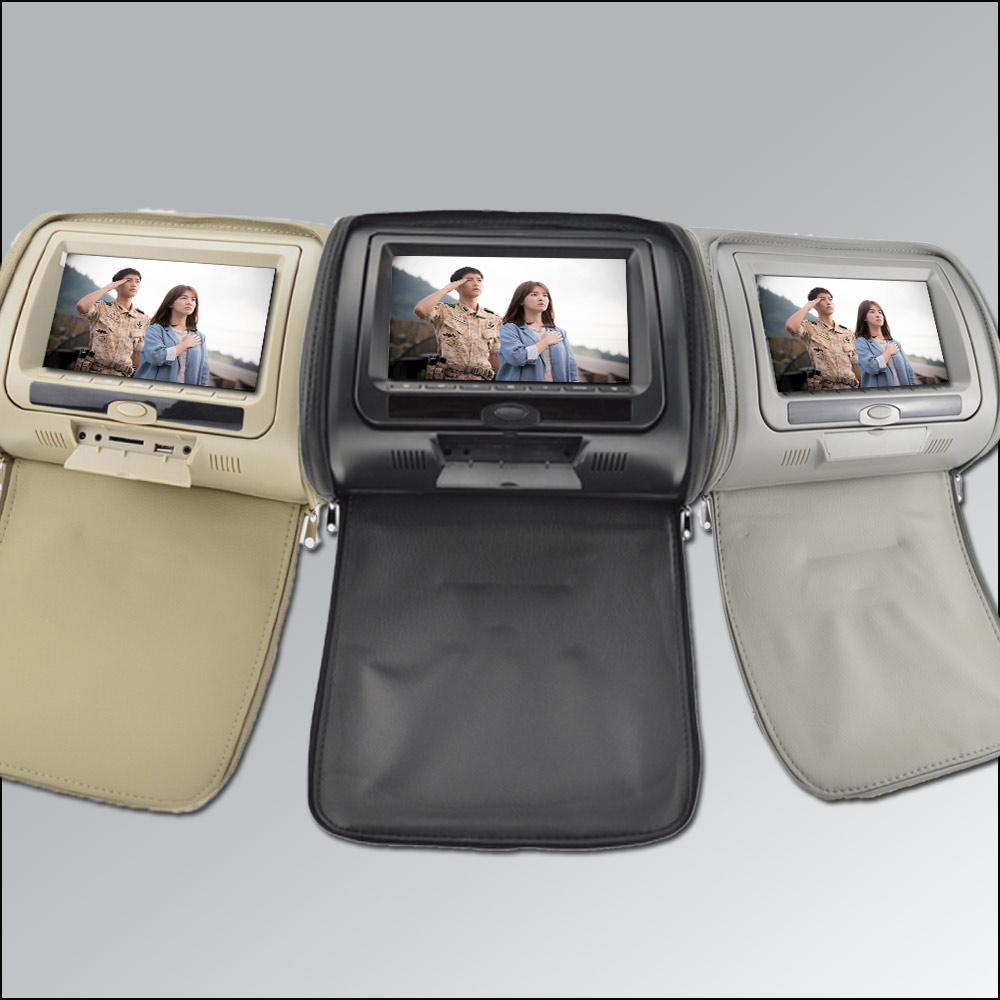 car dvd 2016 27 inch car headrest dvd player universal digital screen zipper