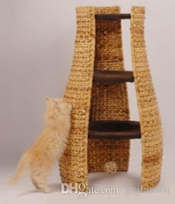 Elegant Natural Banana Leaf Cat Scratching Tree Cat Tree Cat Toy Pet Product Cat  House Cat Bed Cat Furniture Cat Cave Online With $81.97/Piece On Gzjianwuu0027s  Store ...