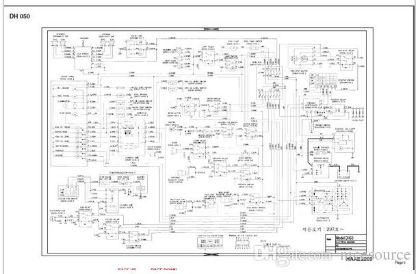 all doosan electrical circuits hydraulic circuits all