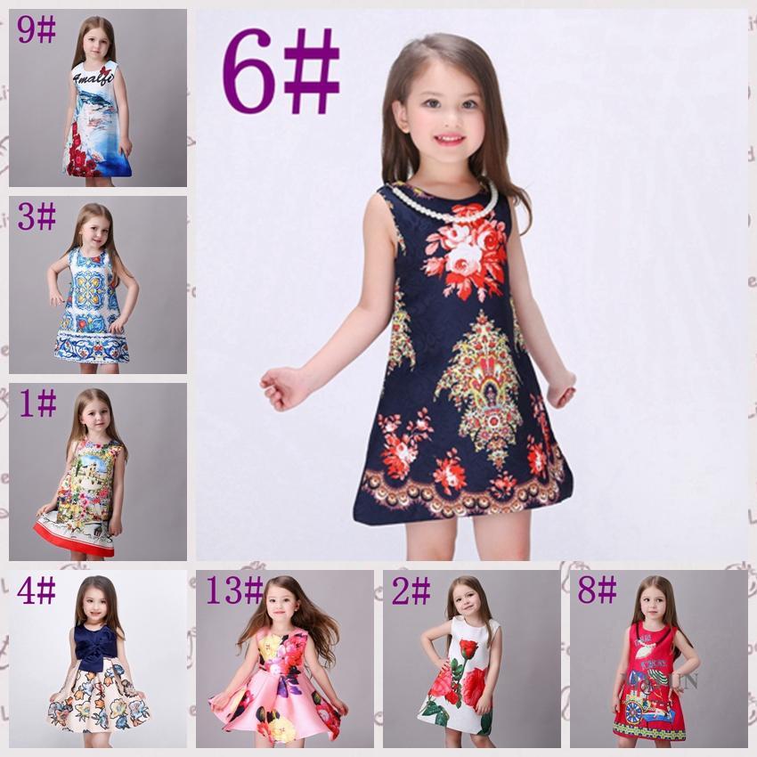 Discount Designer Toddler Christmas Dresses | 2017 Designer ...