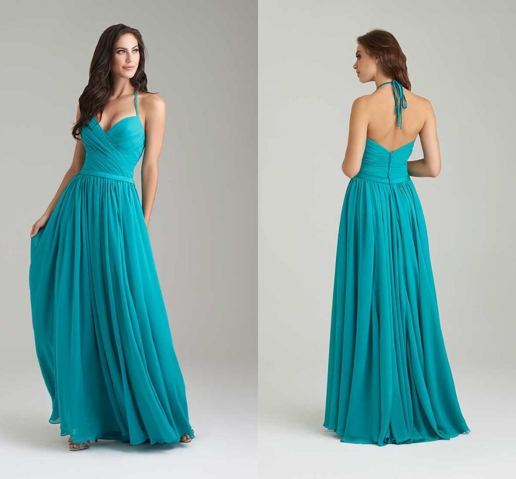 Paolo Sebastian Sweetheart Halter Floor Length Prom Dress