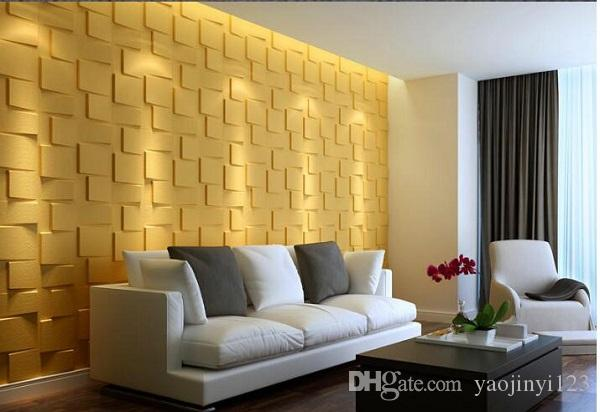 Waterproof Boards Interior Home Decoration Wall Panel 3d