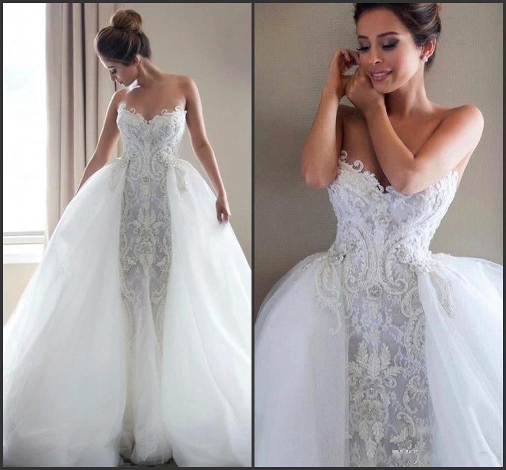 2016 Berta Mermaid Wedding Dresses Sweetheart With