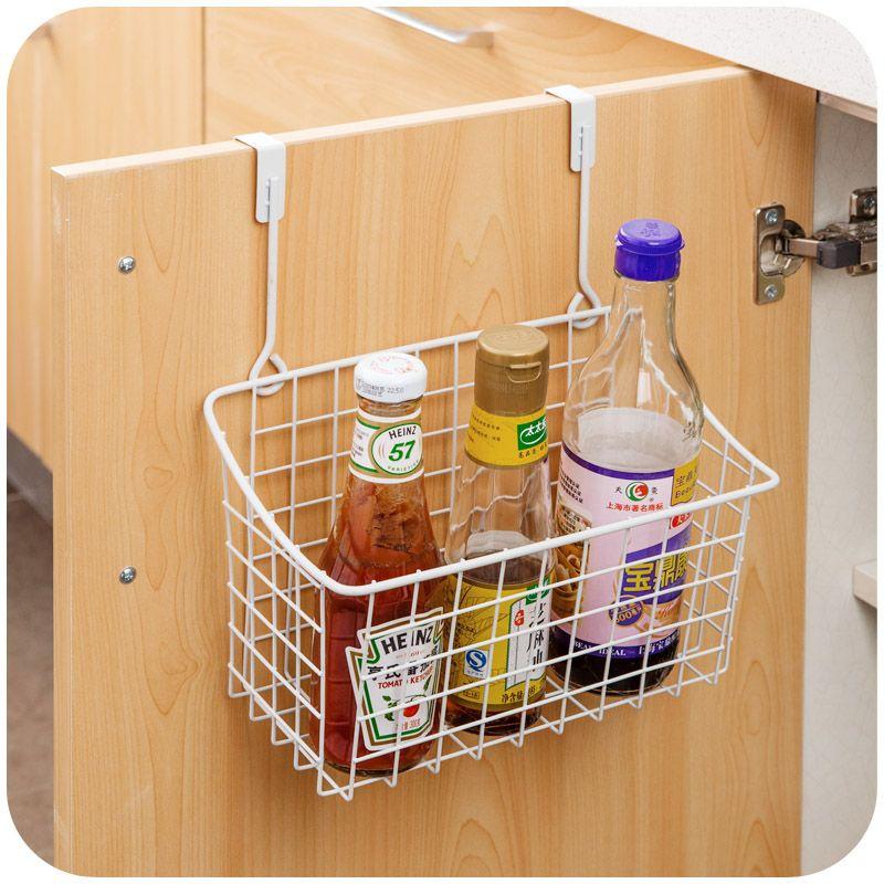 Keukenkast Accessoires : New Kitchen Cabinet Door Back Storage Rack Organizer