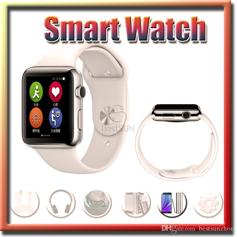 1.54inch Wearable Goophone Smart Watch Mtk2502c Ips 200mah ...